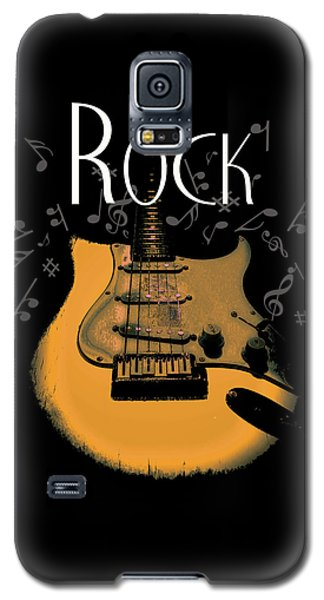 Rock Guitar Music Notes Galaxy S5 Case