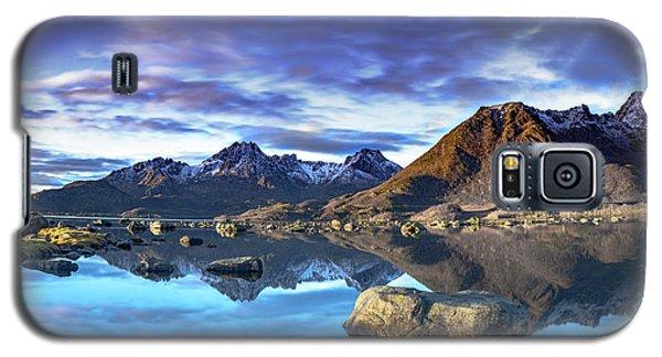 Rock Reflection Landscape Galaxy S5 Case