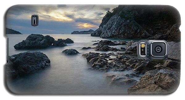 Rocky Coast Near Dubrovnik Galaxy S5 Case