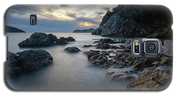 Rocky Coast Near Dubrovnik Galaxy S5 Case