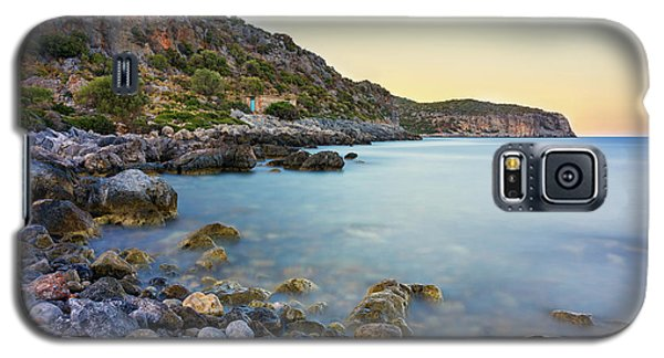 Rocky Coast Near Monemvasia Galaxy S5 Case