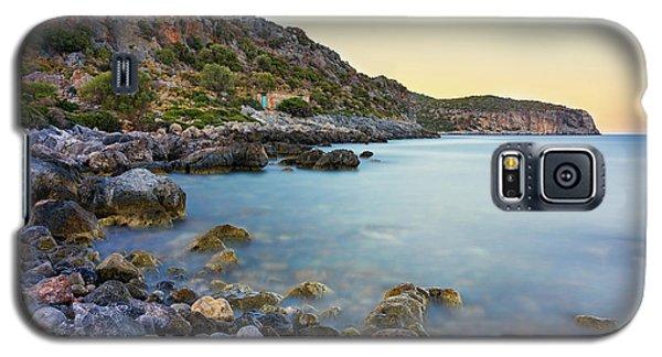 Rocky Coast Near Monemvasia Galaxy S5 Case