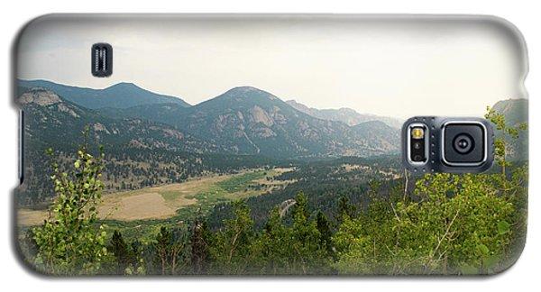 Rocky Mountain Overlook Galaxy S5 Case