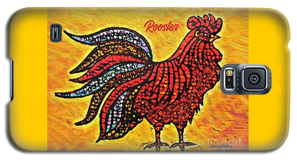 Rooster In The Moring Galaxy S5 Case