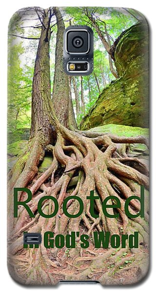 Rooted In God's Word Galaxy S5 Case