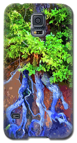 Galaxy S5 Case featuring the photograph Roots Of Life by Ben Upham III