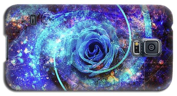 Rosa Azul Galaxy S5 Case