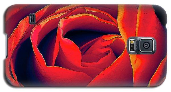 Rose Ablaze Galaxy S5 Case