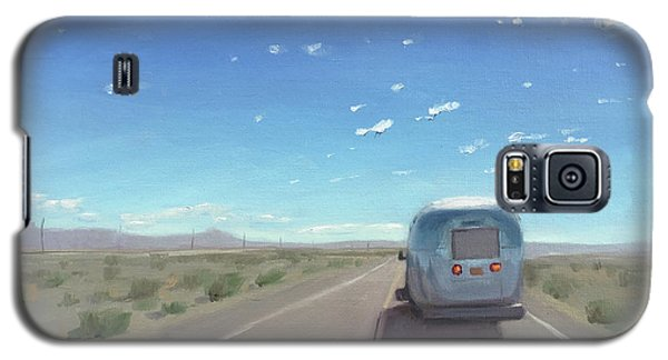 Route 66, Somewhere In California Galaxy S5 Case