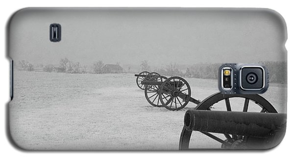 Row Of Cannon Galaxy S5 Case