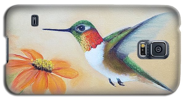 Rufous In Marigolds  Galaxy S5 Case