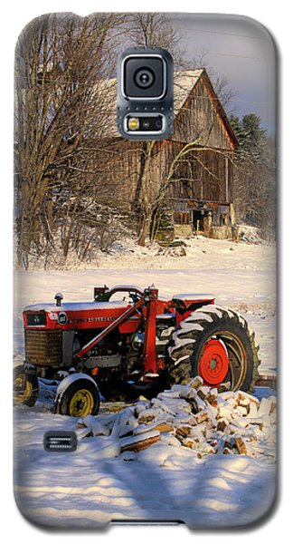 Rustic Barn On Vermont Farm Galaxy S5 Case