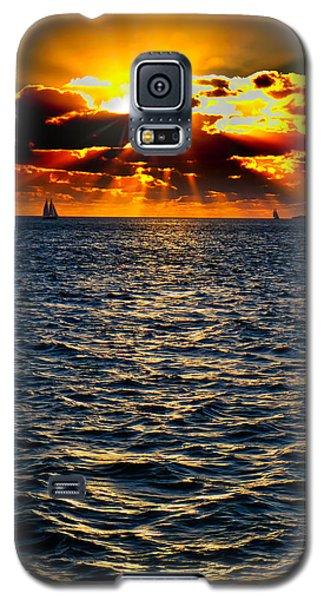 Sailboat Sunburst Galaxy S5 Case