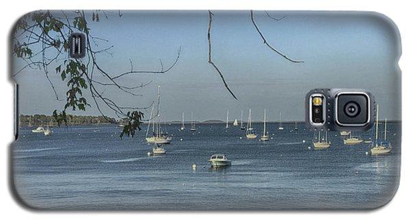 Sailboats In Rockland Harbor Galaxy S5 Case
