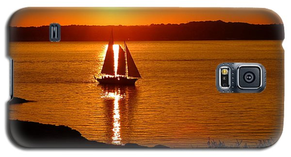Sailing At Sunset Galaxy S5 Case