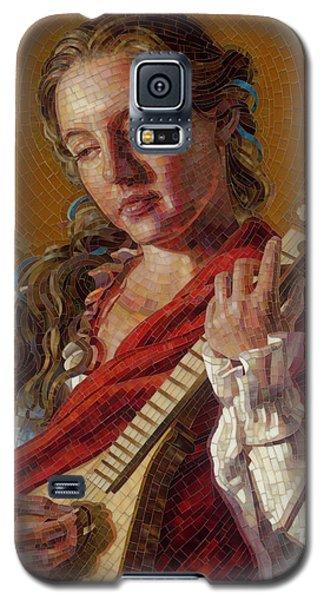 Saint Cecelia Mosaic Galaxy S5 Case