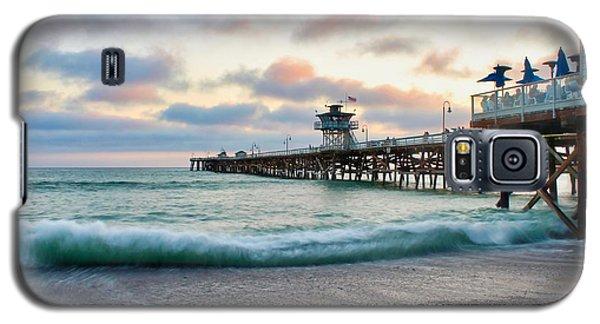 A San Clemente Pier Evening Galaxy S5 Case