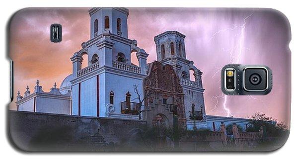 San Xavier Mission Lightning Galaxy S5 Case