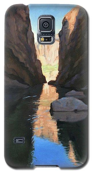 Santa Elena Canyon, Big Bend Galaxy S5 Case