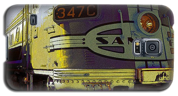 Santa Fe Railroad 347c - Digital Artwork Galaxy S5 Case