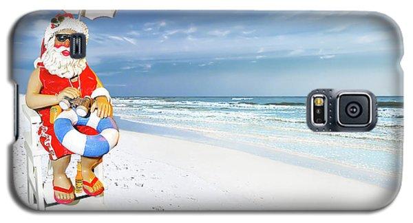 Santa Lifeguard Galaxy S5 Case