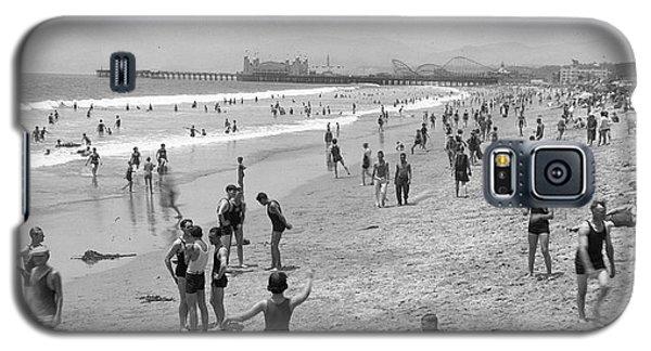 Santa Monica Beach Circa 1920 Galaxy S5 Case