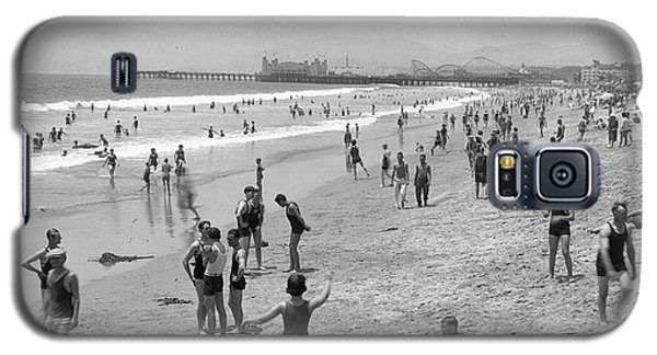 Santa Monica Beach Circa 1920 Galaxy S5 Case