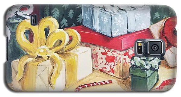 Santa Was Here Galaxy S5 Case