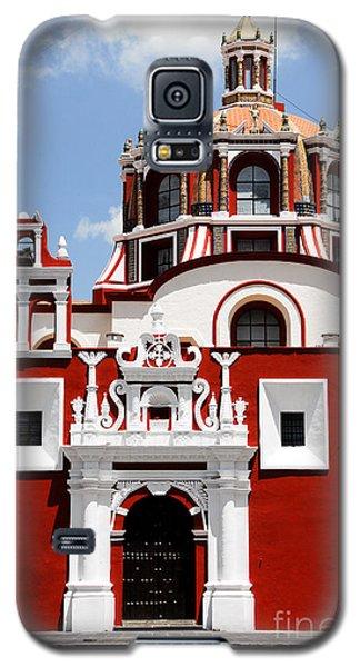 Town Galaxy S5 Case - Santo Domingo Church, Puebla Mexico by Alberto Loyo