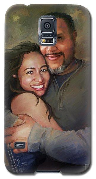 Sara And Ahmed Galaxy S5 Case