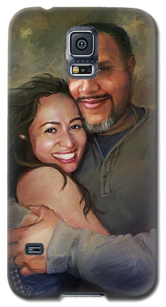 Sara And Ahmed Galaxy S5 Case