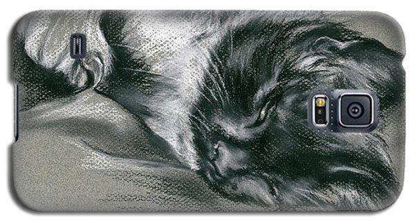 Sassy Samantha The Tuxedo Cat Galaxy S5 Case