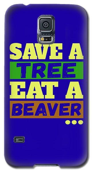 Save A Tree Galaxy S5 Case