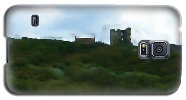 Scarborough Castle Painting Galaxy S5 Case