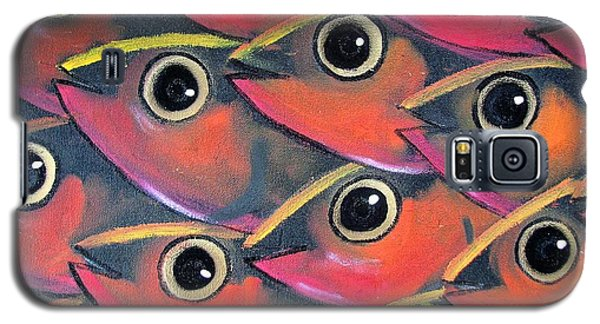 School Of Eyes Galaxy S5 Case