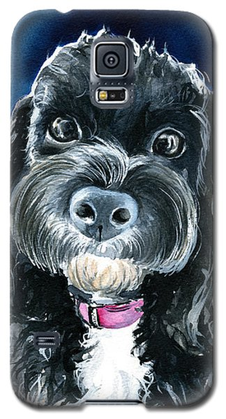 Scout - Cavoodle Dog Painting Galaxy S5 Case