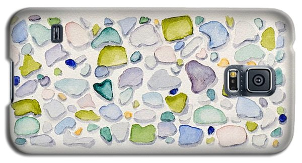 Sea Glass Hearts Galaxy S5 Case