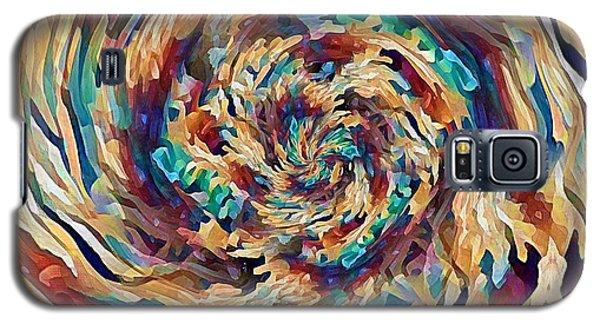 Sea Salad Swirl Galaxy S5 Case