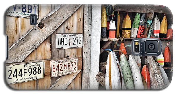Sea Shack Plates And Buoys Galaxy S5 Case