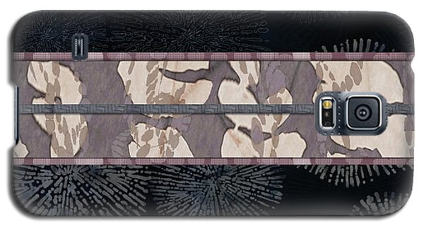 Sea Urchin Contrast Obi Print Galaxy S5 Case