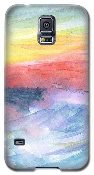 Sea Wave Galaxy S5 Case