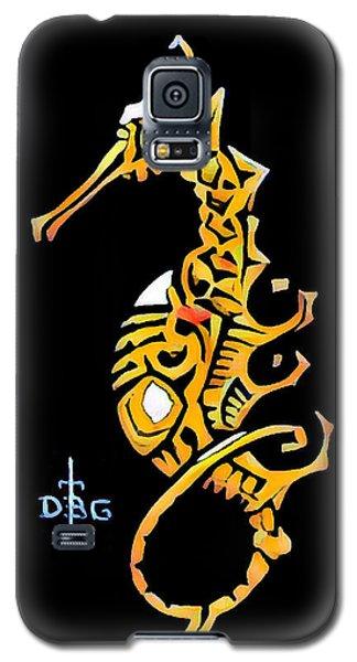 Seahorse Golden Galaxy S5 Case