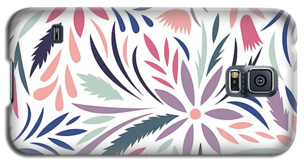 Branch Galaxy S5 Case - Seamless Floral Pattern. Vector Floral by Tets