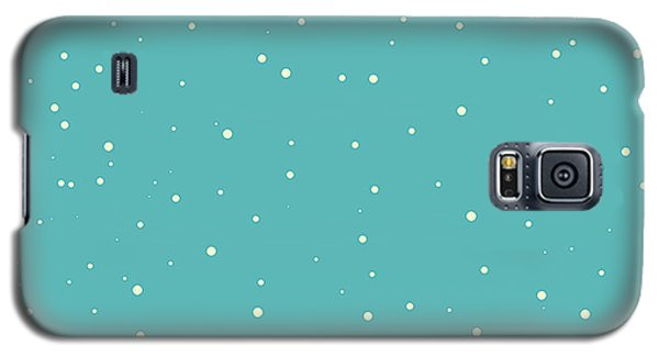 Cold Galaxy S5 Case - Seamless Snow Vector Pattern by Noredfox