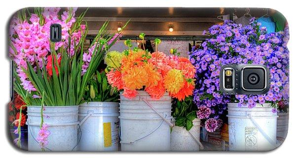 Seattle Flower Market Galaxy S5 Case