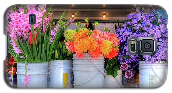 Seattle Flower Market Galaxy S5 Case