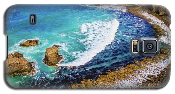 Roaring Bay At Nugget Point Galaxy S5 Case