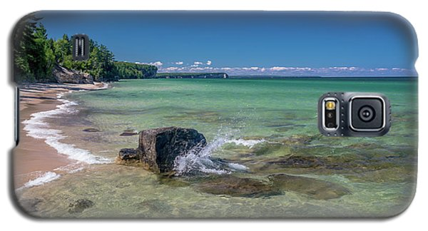 Secluded Beach Galaxy S5 Case