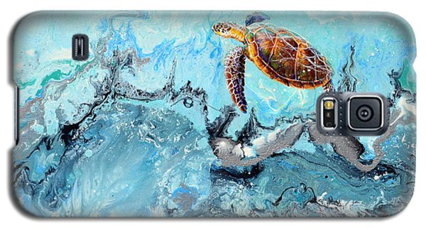 See Turtle Galaxy S5 Case