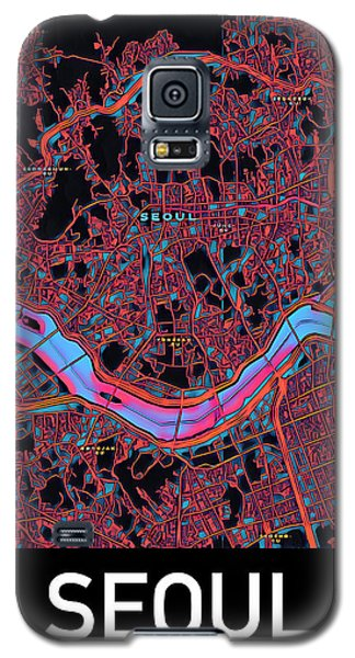 Seoul City Map Galaxy S5 Case